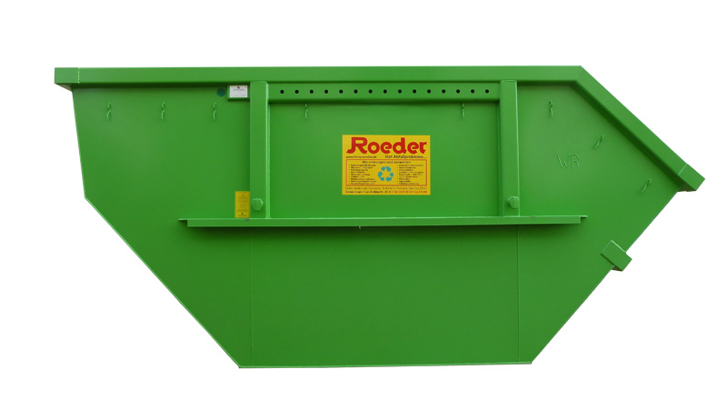 12m3 Absetzcontainer offen